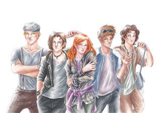 Geals: El destino de la Ariada - Personajes