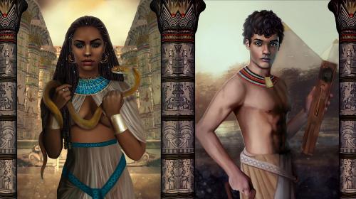 La voz de Amunet: Amunet y Khay