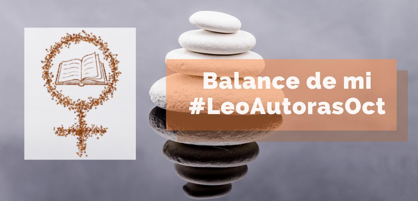 Balance de mi #LeoAutorasOct
