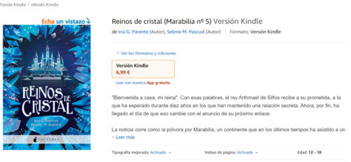 Cómo funciona Kindle Unlimited: libro no disponible