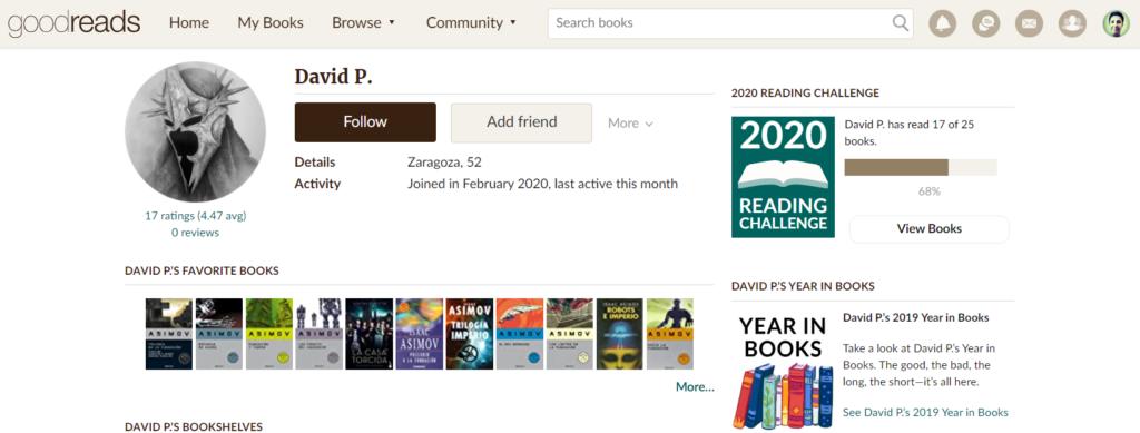 Cómo usar Goodreads: la red social - Añadir amigos