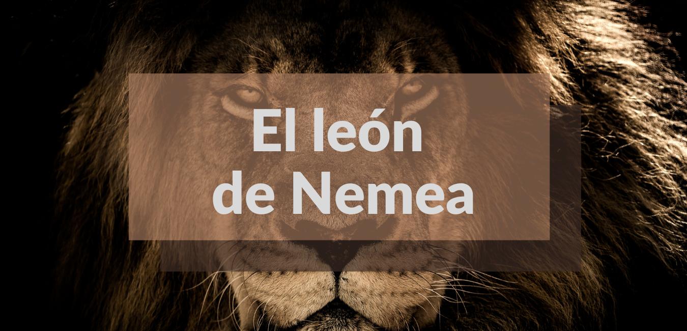 Lee más sobre el artículo El león de Nemea