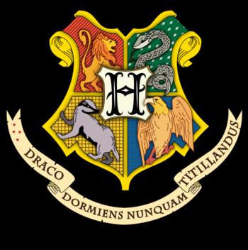 Escudo del Colegio Hogwarts de Magia y Hechicería