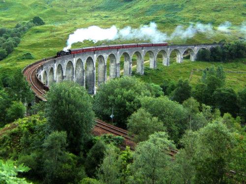 Tren al colegio Hogwarts