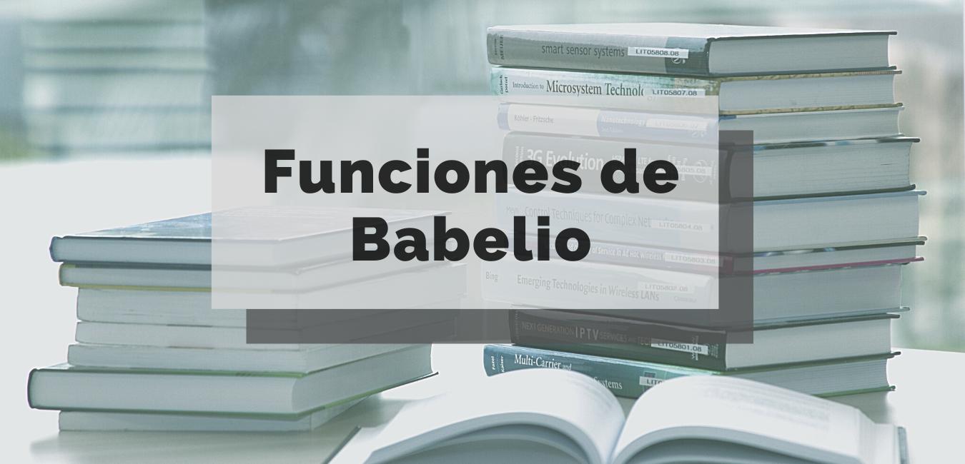 Funciones de Babelio: descubre todo lo que ofrece esta plataforma