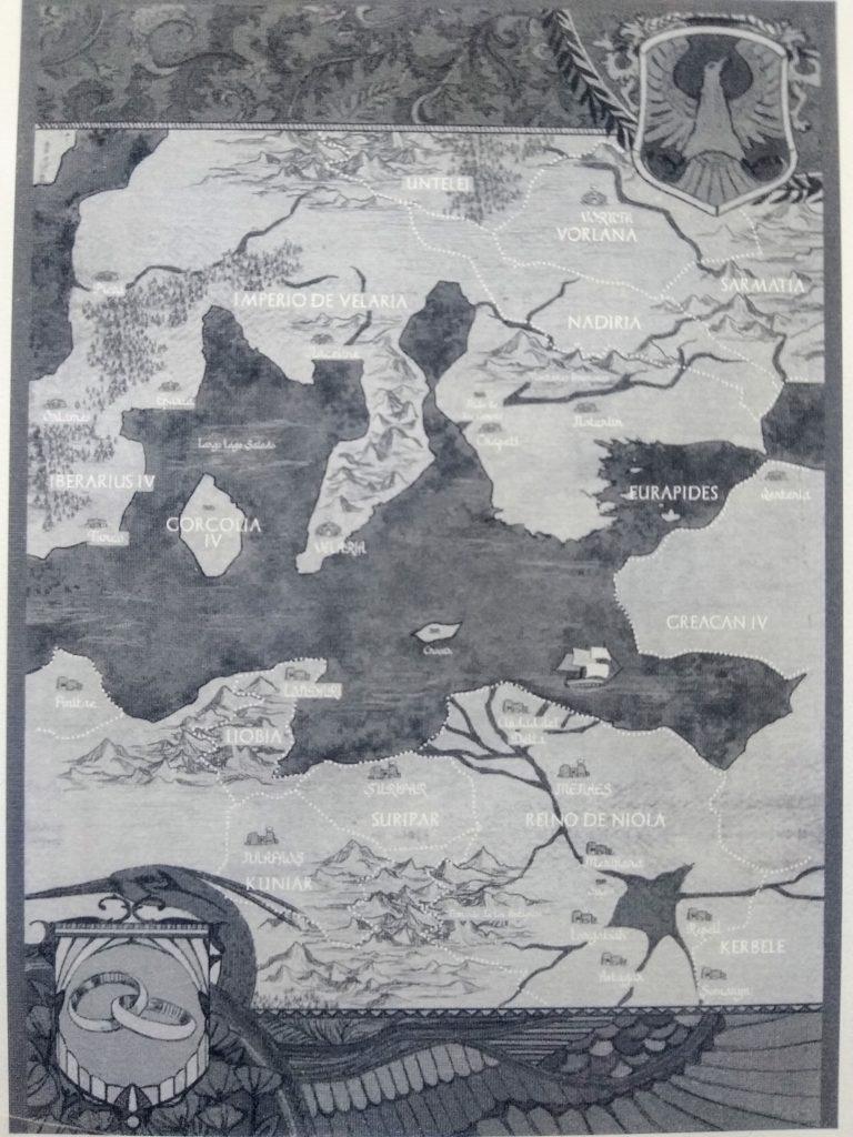 Las Guerras de la Alianza: Mapa