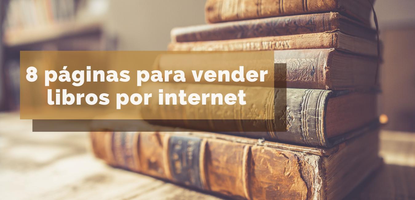 8 páginas para vender libros por internet