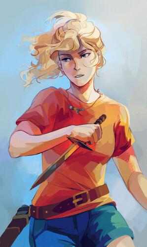 Personajes femeninos de los libros juveniles: Annabeth Chase