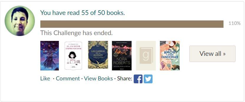 Retos literarios para 2021: Goodreads