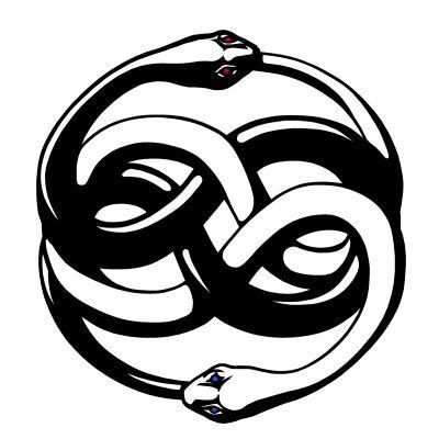Serpiente de dos cabezas: el uróboros
