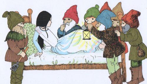 Personajes femeninos de los libros juveniles: Blancanieves