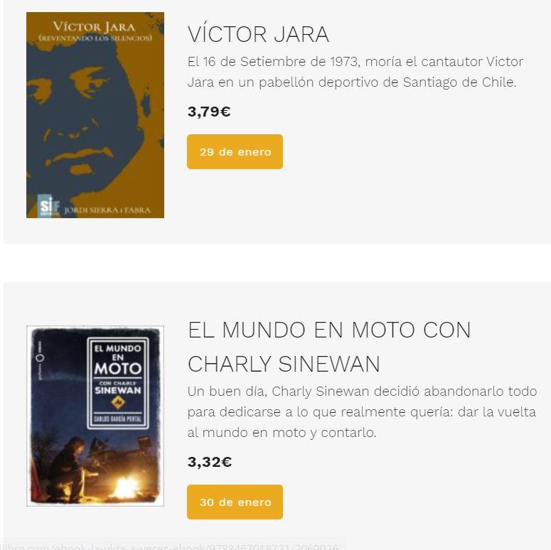 comprar ebooks baratos: Tagus