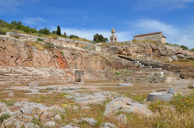 Misterios de Eleusis - restos del Telesterion