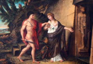 Mito de Ariadna - Laberinto