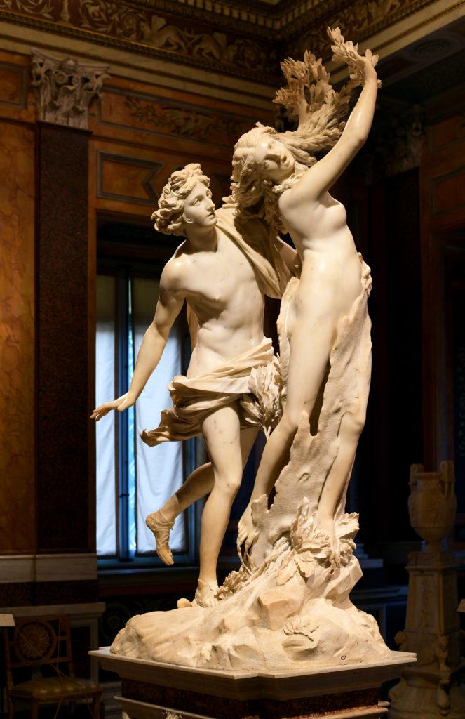 Mito de Dafne - escultura