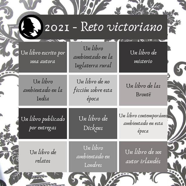 Retos literarios para 2021: Reto victoriano
